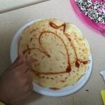 Kinder pannenkoek